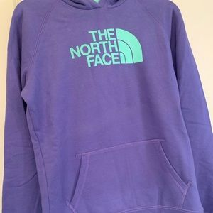 Women's North Face Logo Hoodie L